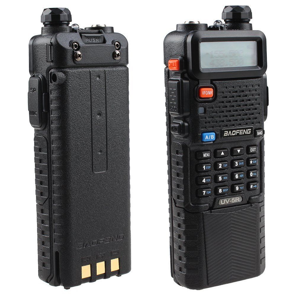 Portable radio sets baofeng 5R UV5R,single PTT baofeng uv ham Radio transceiver with 3800mAh battery better than baofeng gt-3(China (Mainland))