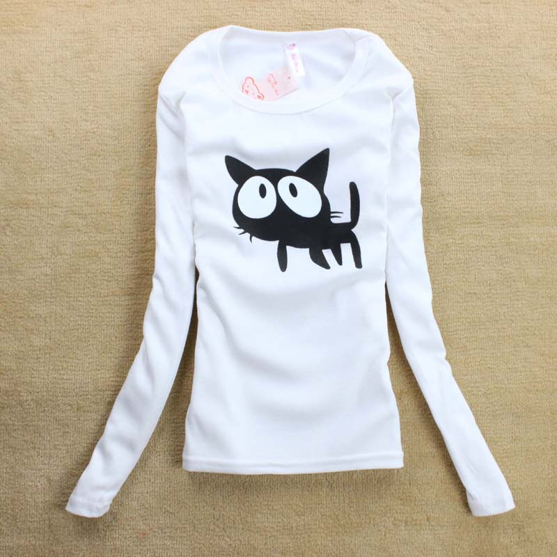 2013 Autumn And Winter Long Sleeved T Shirt Flag Cotton T