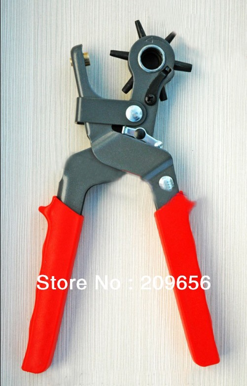 Revolving Leather Canvas Plastic,Rubber,Belt Punch Punching Plier Hole 2-4.5mm Multifunction Hole Punch Pliers DHL Free Shipping<br><br>Aliexpress