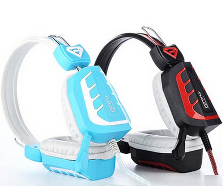 Stereo headphones Built-in Mic Music Gaming headphones(China (Mainland))