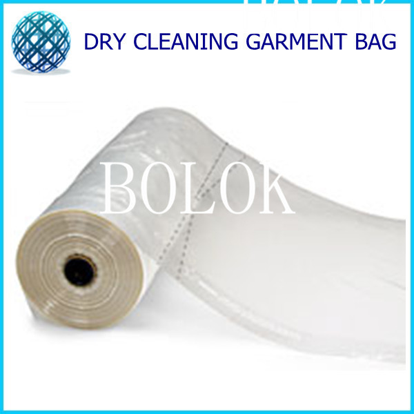 820BAG/LOT Disposable dry cleaning bags with ladder seal( size: 21*4*40 thickness 0.00045) suit bags free shipping(China (Mainland))