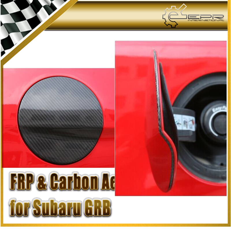 Фотография New FOR Ford 2015 Mustang Carbon Fiber Gas Fuel Tank Cover  Car Accessories Car Styling