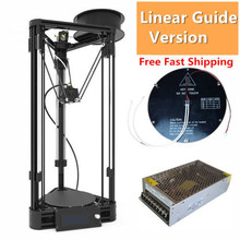 3D Printer DIY Kit Auto Level Injection Kossel 3D Printer Axis Smooth Rail 3D Printer With