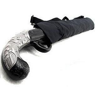 Classic gun folding,knife style and pistol style umbrella, personality umbrella gift(China (Mainland))