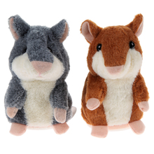 1 Pcs Talking Hamster Toy Stuffed Animals Plush Toy Kids Speak Talking Sound Record Educational Toy for Children Christmas Gift(China (Mainland))