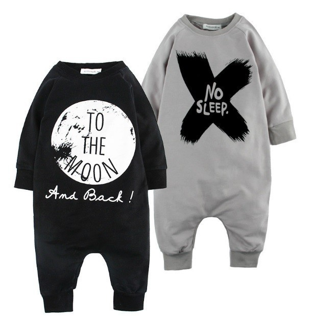 Гаджет  Autumn 100% Cotton Baby Boy girls Clothes Girl Baby Romper Baby Clothes One Piece Jumpsuit NO SLEEP Carters Baby Clothing None Детские товары