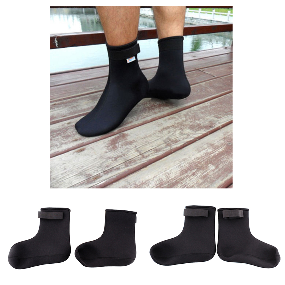 Neoprene Water Sports Swimming Scuba Free Diving Fin Socks Snorkeling Boots Diving swimming fins Free(China (Mainland))