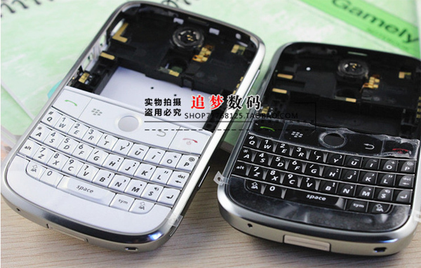 Free shipping wholesale 10pcs lot original mobile phone housing for Blackberry pearl Bold 9000(China (Mainland))