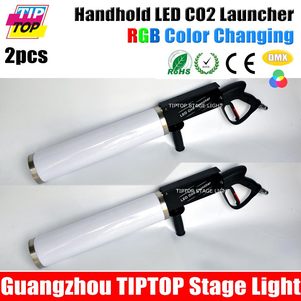 2XLOT LED CO2 Gun Perfect Disco&Stage Light DJ Jet Machine Smoking Battery - GuangZhou TIPTOP Stage Lighting Co.,Limited store