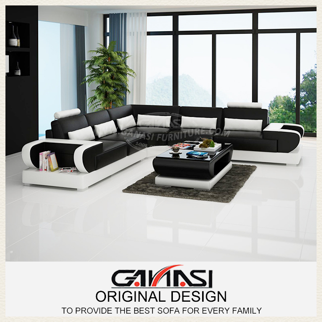Modern European Leather Sofa Modern Sofa Bed Luxury Furniture Brand In Living Room Sofas From