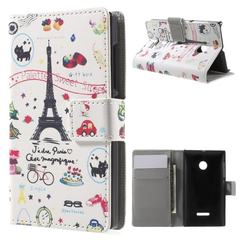 Phone Cases for Lumia 532 Faux Leather Case Cover Card Holder for Microsoft Lumia 532 / Dual SIM(China (Mainland))