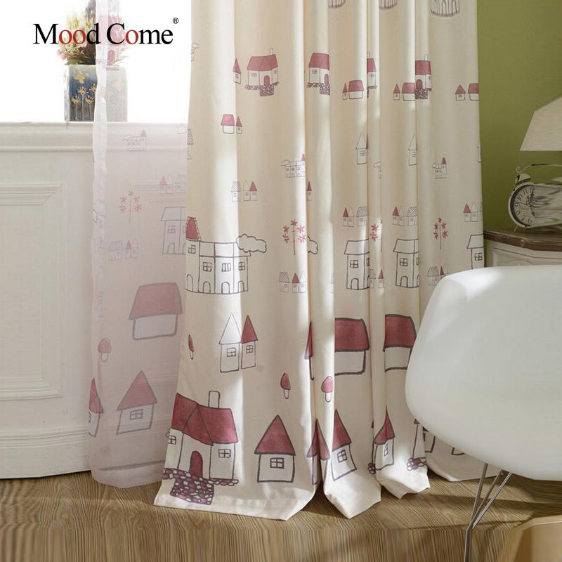 rideaux pour chambre d enfant voilage oeillets 140x240cm motifs curs paillets pour enfant diy. Black Bedroom Furniture Sets. Home Design Ideas