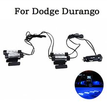 Auto Interior Light 4 in 1 12V Car Auto Interior LED Atmosphere Lights Decoration Lamp Blue Car Styling For Dodge Durango
