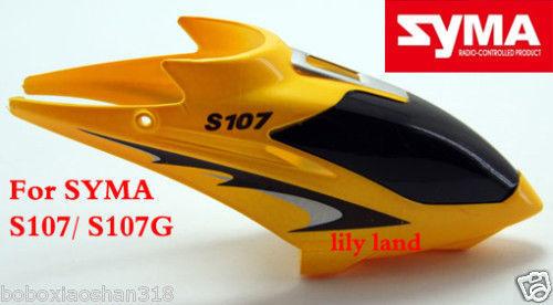 100% Original Syma S107 Canopy Spare Parts Free Shipping SYMA Wltoy Spare Parts(China (Mainland))