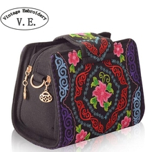 Buy Vintage Embroidery Women Bag Ethnic Canvas Tote Cover Shoulder Messenger Bags Hmong Handmade Embroidery Small Day Clutch Bag for $10.11 in AliExpress store