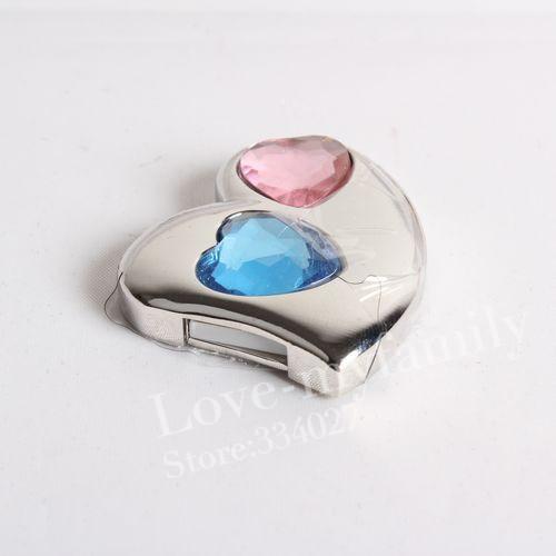jewelry usb gadgets necklace 8gb 16gb 32gb love heart crystal usb flash drive flash usb drive pendrives usb memory gift()