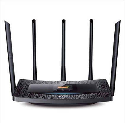 Newest TP-LINK TL-WDR6510 1300M 11AC Dual For Band Touch Screen Wireless Router 2.4/5GHz Wireless Wi-Fi Router 5 Antennas(China (Mainland))