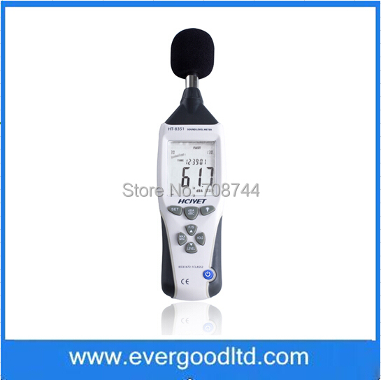 HT-8351 Contact Digial Decibel Pressure Environment Sound Noise Level Meter Tester Range 30-130dB(China (Mainland))