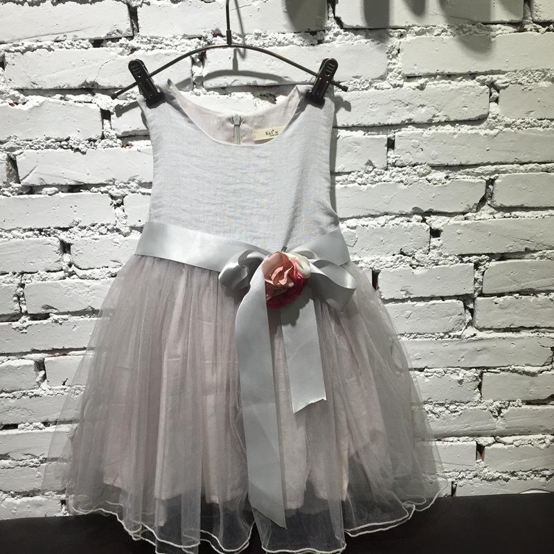 Здесь продается  Baby Girls Mesh Lace Party Dresses Kids Girl Summer 3D Flower Dress Girl Princess tutu Dress 2016 Babies Clothes  Детские товары
