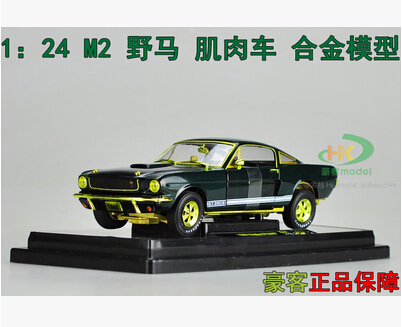 Ford 1966 Shelby GT350S R44 GT350R 1:24 car model alloy kids toy Fast & Furious Sports car American Muscle Car boy gift(China (Mainland))