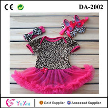 Wholesale 3 sets/lot cotton short sleeve baby bodysuit set, shoes+headband+baby bodysuit with tulle skirt as a set(China (Mainland))