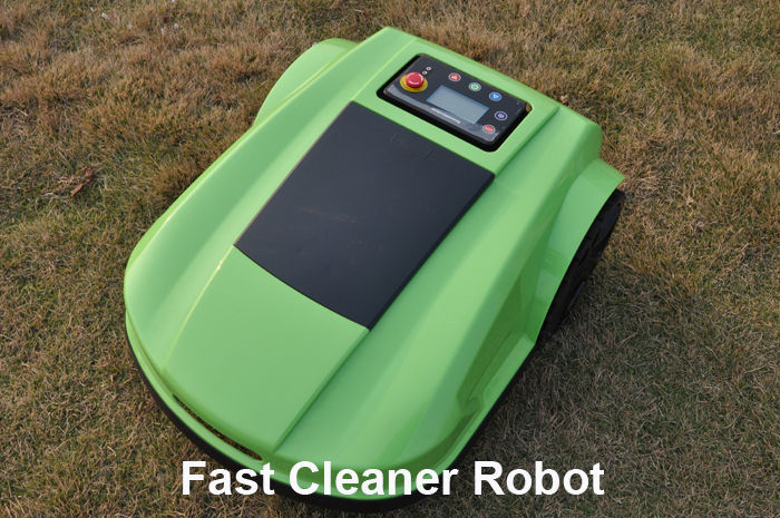 Free Shipping S520 4th generation robot lawn mower with Range Funtion,Auto Recharged,Remote Controller,Waterproof(China (Mainland))