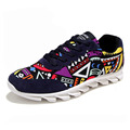 New Arrival Winter Fashion Men Shoes Suede Leather Breathable Casual Canvas Flat With Printed Mixed Color