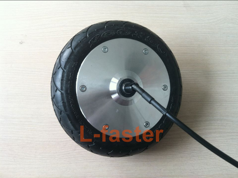"""24V/36V/48V 180W Electric Scooter 8 Inch Wheel Motor Electric Brushless Hub Motor For Electric Kickscooter 8"""" Non-Pneumatic Tyre(China (Mainland))"""