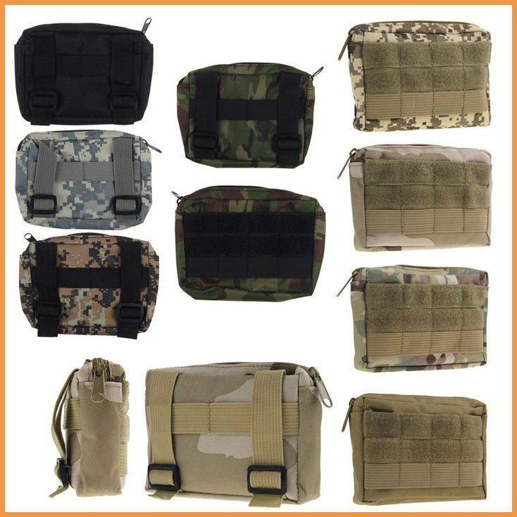 MOLLE Military Tactical Camping Hiking Hunting Bag Outdoor Trekking Belt Pouch CS Bags Case  -  ChenLian store