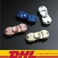 50pcs lot in stock DHL finger Fidget Spinner Hand Spinner EDC Aluminum Alloy Metal gyro Anxiety