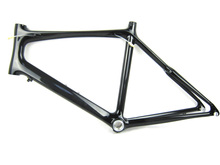 free shipping mini velo carbon fiber bike frame,adult / kids 49cm size bicycle frame for road bicycle frame(China (Mainland))