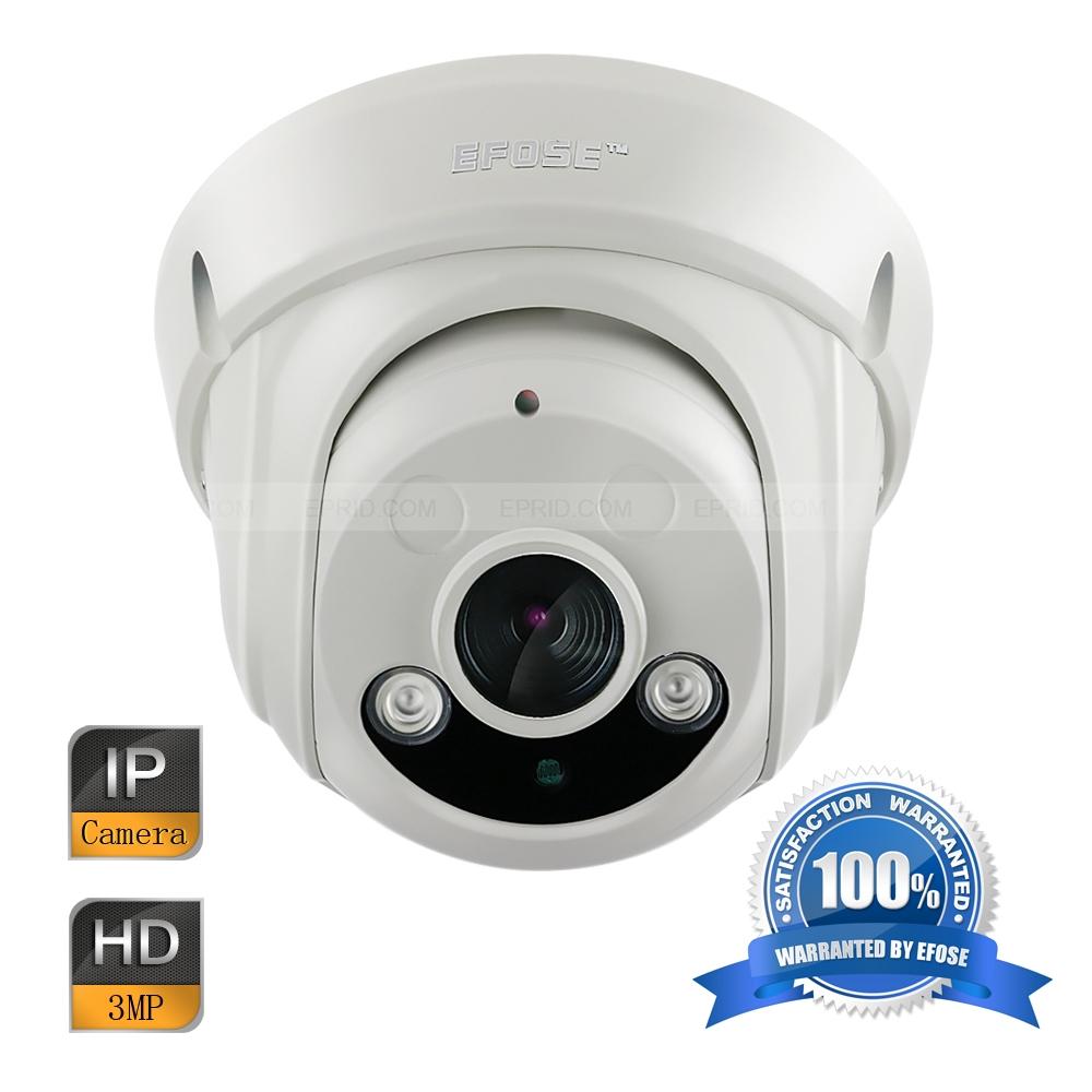 EFOSE FO-3ID341-N   3MP Full HD Network IR Dome Camera 1/3 CMOS Vandal-proof HD 1080P 2PCS Array IR<br><br>Aliexpress