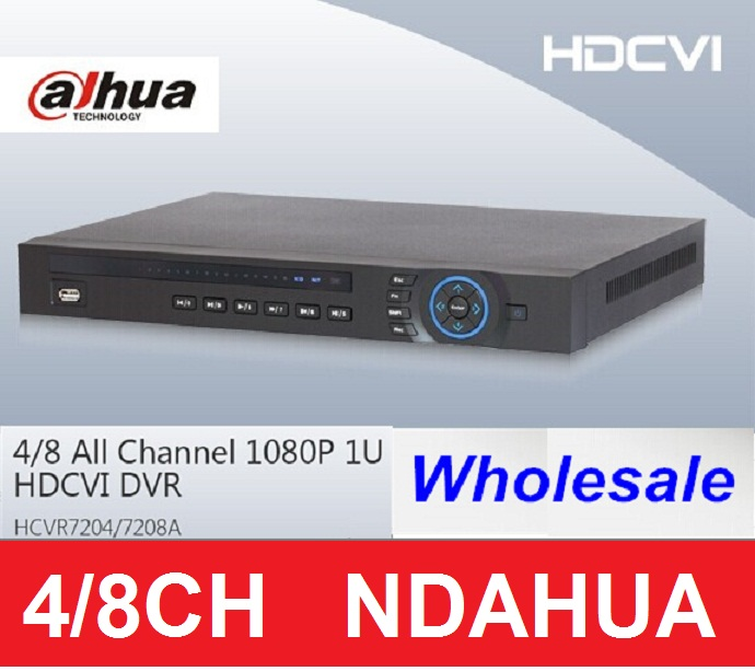 Newest Dahua 1080P HD Outdoor IR Cameras hdcvi HDMI DVR 4 Channel HCVR systems 4ch dvr video recorder<br><br>Aliexpress