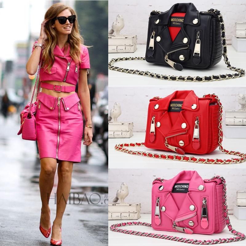 Famous brand chain bag 2015 Fashion Clothing Garment Jacket Women Messenger Bags Purse Satchels Shoulder Bags Party Evening 11(China (Mainland))