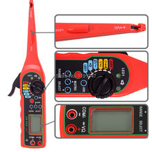 Car Auto Power Electric Circuit Tester Multimeter Lamp Probe Light Electrical Tester System Diagnostic Auto Circuit Tester(China (Mainland))