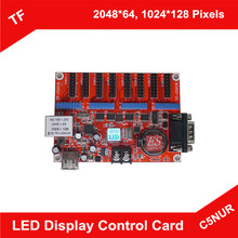 TF-C5NUR LED Display Control Card Network/Serial RS232/USB Port Flash Driver Communication Moving Sign Controller Board(China (Mainland))