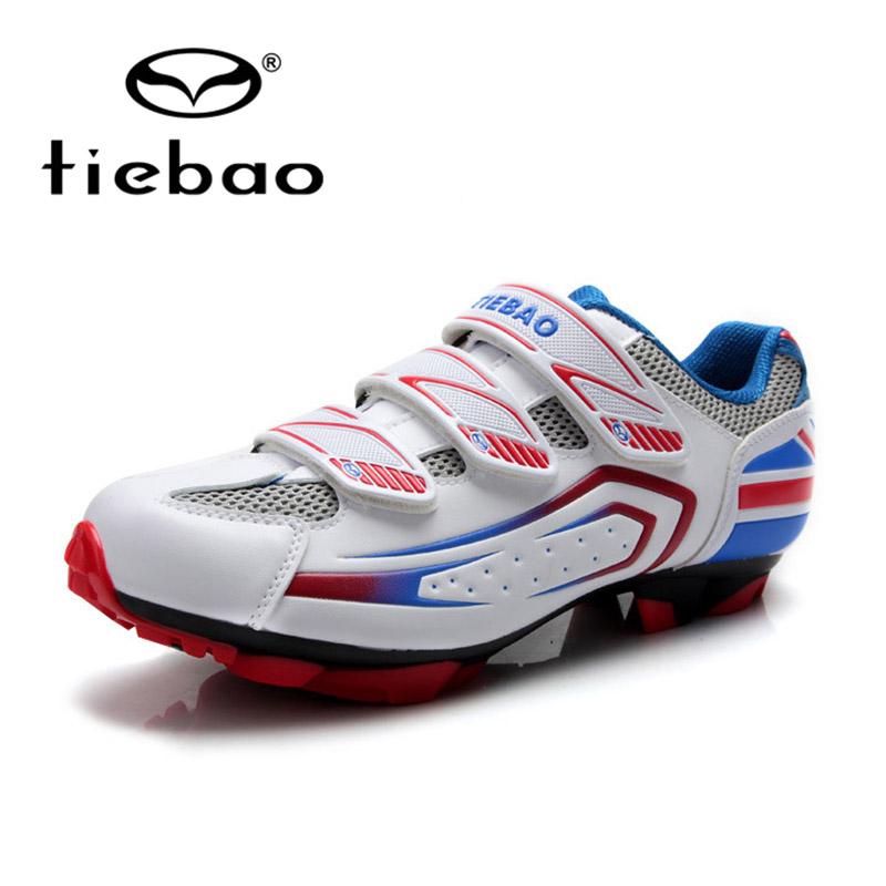 TIEBAO Professional Mountain Biking Self-Locking Shoes Major Mountain Bike Shoes Cycling Sport PVC Soles MTB Cycling Shoes(China (Mainland))