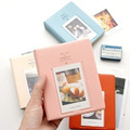 60 Page Korean Mini Album Polaroid Polaroid Iconic Dessert Time 3 inch Photo Album Insert Custom