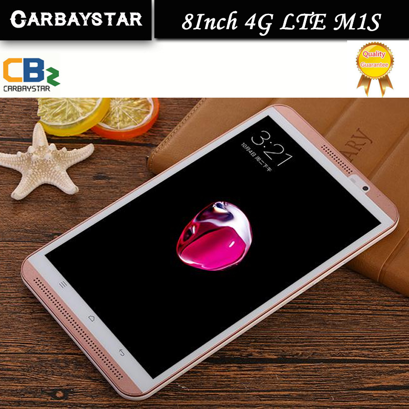 CARBAYSTAR 8 inch M1S Octa Core Android 6.0 4G LTE computer android Smart Tablet PC,best Christmas gift for him Tablet pcs(China (Mainland))
