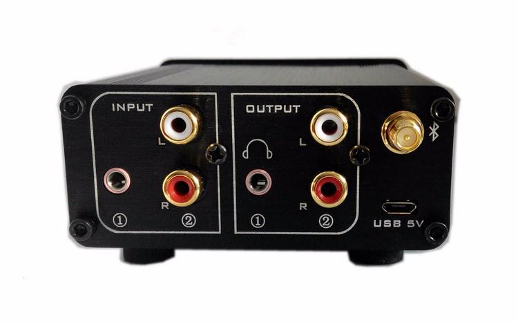 Listen L7 APE lossless Playing U-Disk HiFi Bluetooth Decoder DAC Amplifier Headphone Audio Amp Preamplifier Remote Control