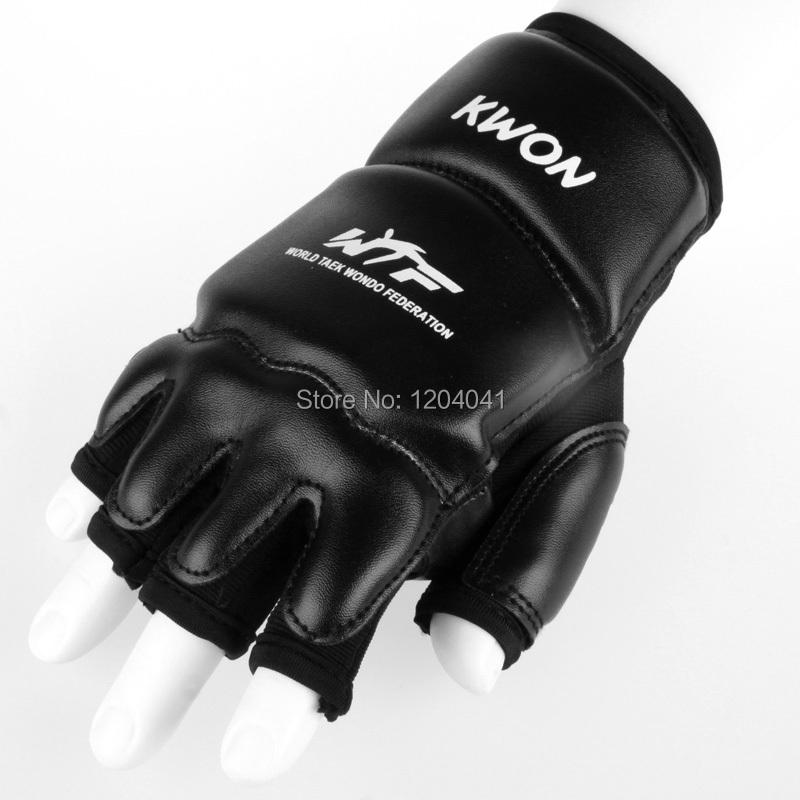 PU Leather Half Finger Fight Boxing Gloves Mitts Sanda Karate Sandbag Taekwondo Protector For Boxeo Mma Muay Thai kick Boxing