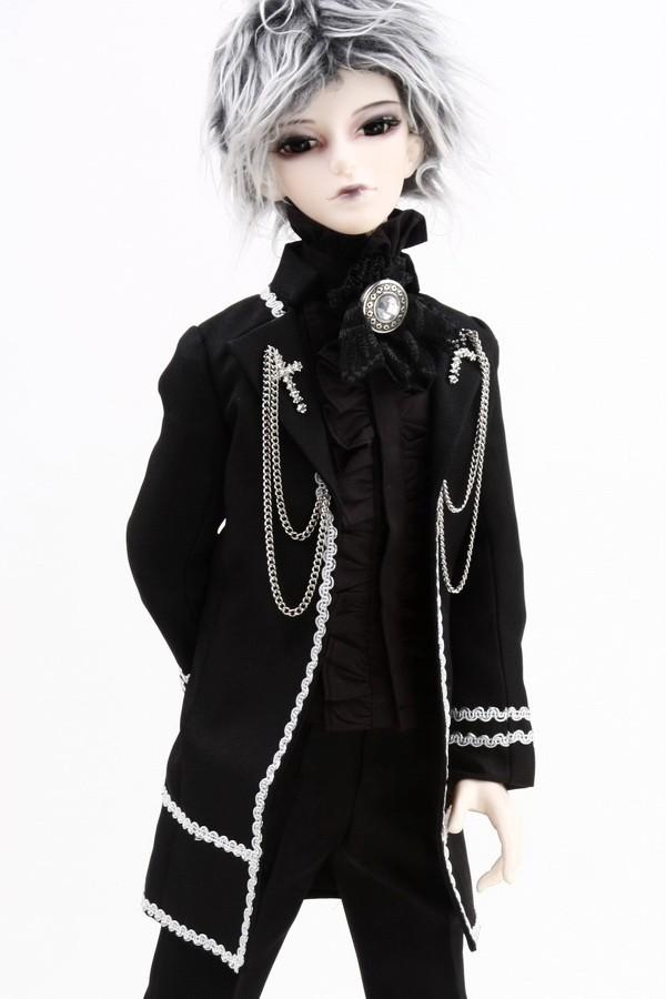 [wamami] 510# Prince Black Suit/Outfit 1/4 MSD BJD Boy Dollfie<br><br>Aliexpress