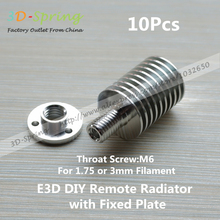E3D All-Metal Extruder Radiator Heat sink with Fixed plate For 3mm Remote Feeding For 3 D Printer Accessories