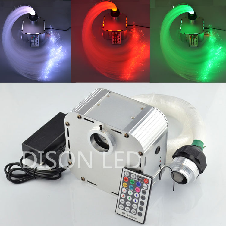 RGB LED Plastic Fiber Optic Star Ceiling Lighting Kit Optical Fiber St