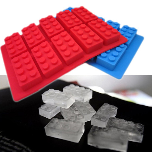 Chocolate Mould Silicone Ice Cube Trays Mold Legoes Ice