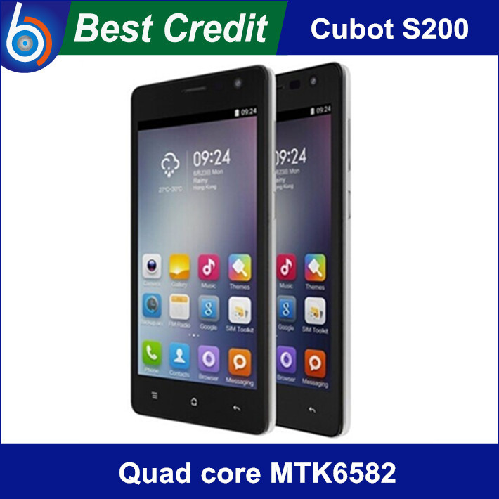 "film+case gift) Original Cubot S200 Quad core MTK6582 1.3GHZ android4.4 phone 5.0"" 1GB+8GB Smartphone 3300mah OTG Google Play/Ev(China (Mainland))"