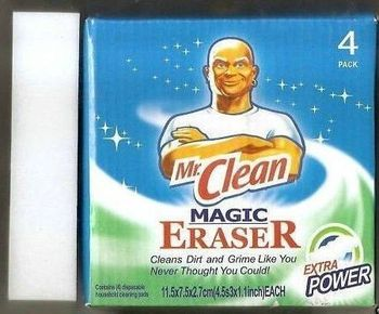 Free shipping1lot=1pack=4pcs Procter & Gamble Mr. Clean Magic Eraser Sponge Cleaner without detergent Magic Sponge As Seen On TV