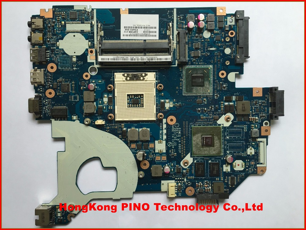 Original For Acer Aspire 5750 5750G Motherboard MBBYL02001 P5WE0 LA-6901p with 4 vedio memorries Main Board 100% tested(China (Mainland))
