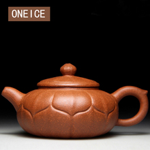 Buy ONEICE Lotus Pot Authentic Yixing Teapot Masters Handmade Teapot Mine Downhill Mud Handicrafts author:Shen Liang Free for $31.57 in AliExpress store