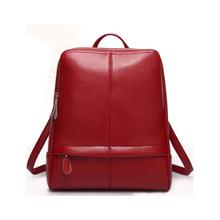 women genuine leather backpack bag women's rucksack woman packsack ladies backpacks 10514(China (Mainland))